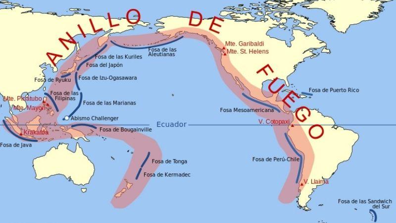 555f821af El Cinturón de Fuego ¿cómo afecta a San Juan? - Diario La Provincia ...