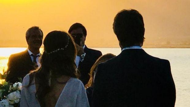 Bravo & Cernadas: el detalle que emocionó a todos en el casamiento del año
