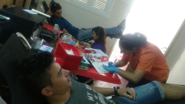 Motivados por un niño de 5 años, casi 100 sanjuaninos se registraron como donante de médula