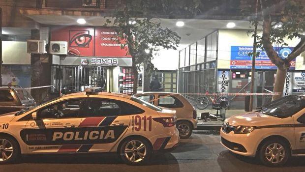 Tres personas quedaron detenidas tras robar en Canal 8