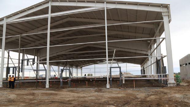 Con una inversión de $110 millones, avanza la obra de la Planta de Faena y Frigorífico
