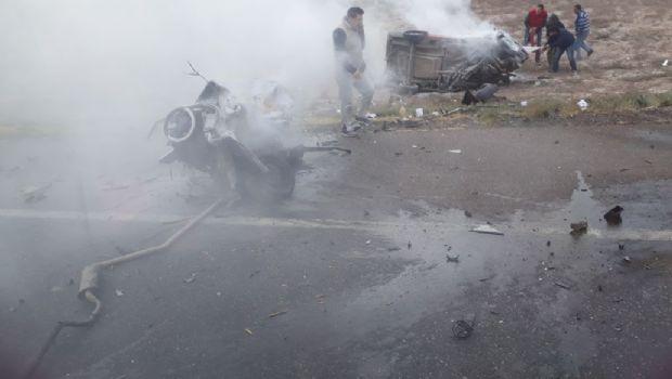 Investigan qué causó el choque fatal en la Ruta 20