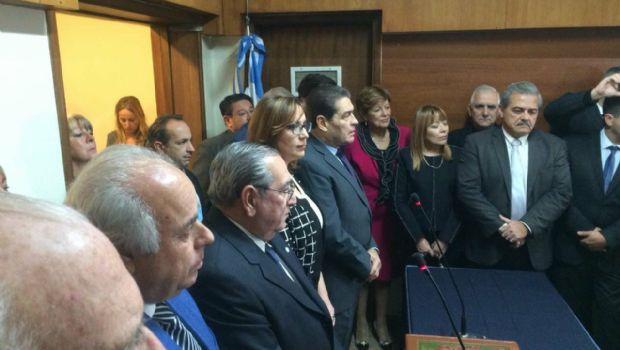 Juró Adriana García Nieto, la primera mujer en integrar la Corte de Justicia en San Juan