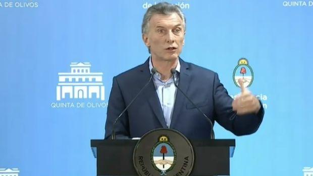 """Macri: """"Vamos a delegar la baja de la inflación en el Banco Central"""""""