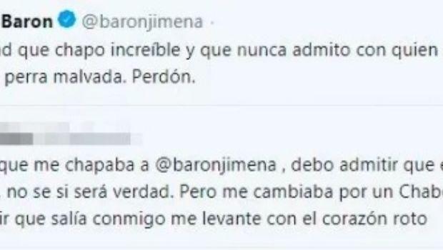 Divertida confesión de Jimena Barón