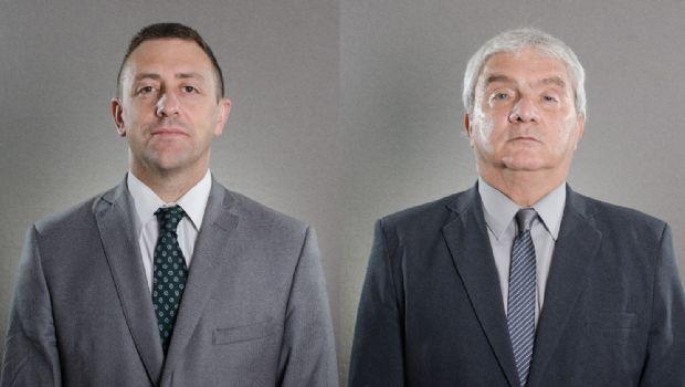 Los jueces Eduardo Raed y Ricardo Grossi, los reemplazos de Pablo Flores durante el mes de suspensión