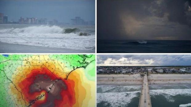 Vivo: Huracán Florence avanza y se espera el pico para la noche