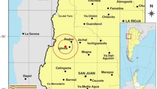 Un fuerte sismo en San Juan y otro en Mendoza, se percibieron en la región en 13 minutos