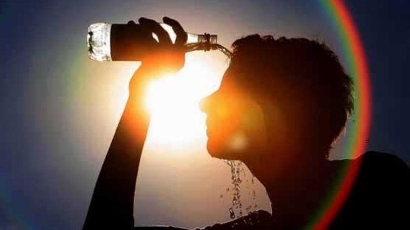 Se viene un lunes de intenso calor con probabilidad de chaparrones