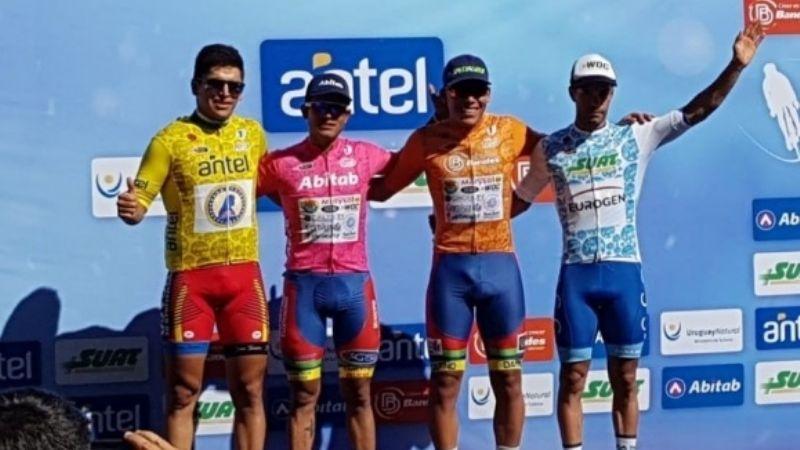 Los sanjuaninos dominaron la primera etapa de la Vuelta a Uruguay
