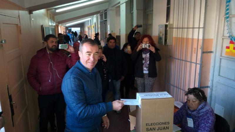 """Fabián Martín: """"Tenemos muchas expectativas en esta jornada de elecciones"""""""