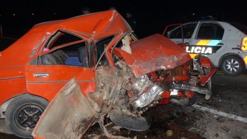 Un joven en estado grave tras chocar en Ruta 40, en Carpintería